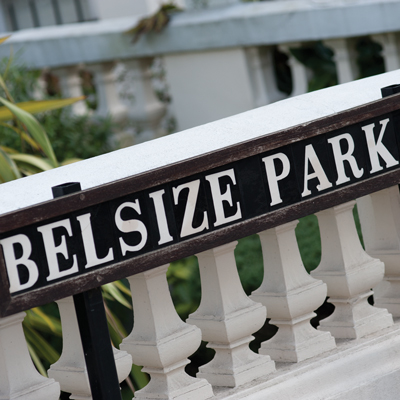 Belsize Park in North West London