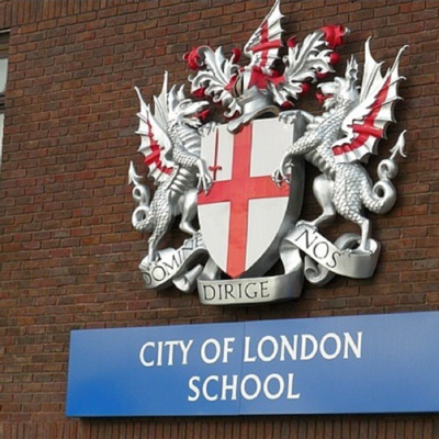 The City of London School is an independent boys school on the banks of the River Thames
