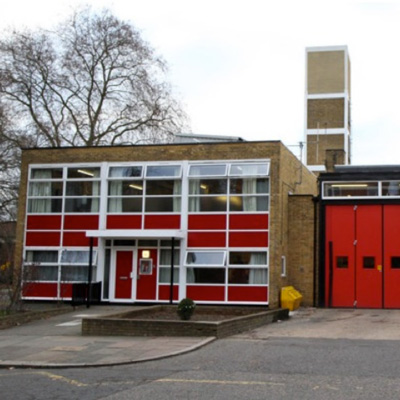 Hornsey Fire station near Crouch End in North London