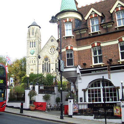 The Old Crown in Highgate