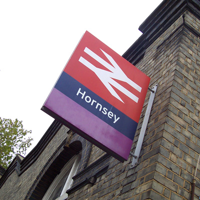 Hornsey Rail Station