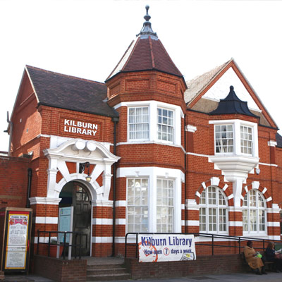 Kilburn Library in Kensal Rise in North West London