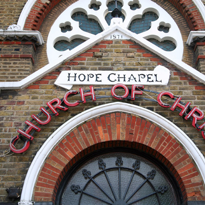 Hope Chapel in Kentish Town