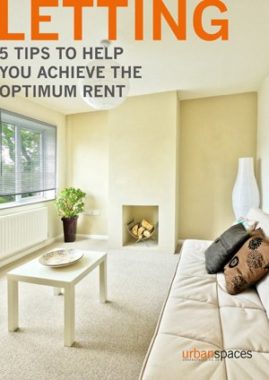LETTING - 5 tips to help you achieve the optimum rent
