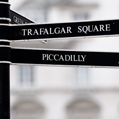 Trafalgar Square, Piccadilly
