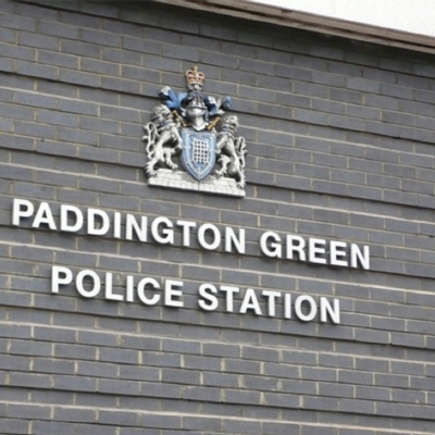 Paddington Green police Station in Maida Vale West London