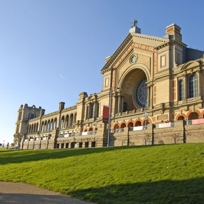 Alexandra Palace in Muswell Hill