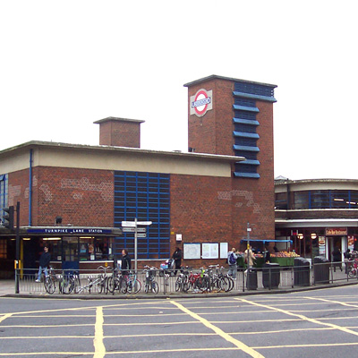 Turnpike Lane Underground Station